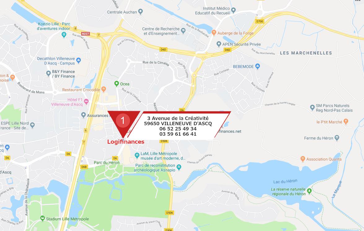 Courtier prêt immobilier Lille, Villeneuve d'Ascq, Baisieux, Cysoing, La Madeleine