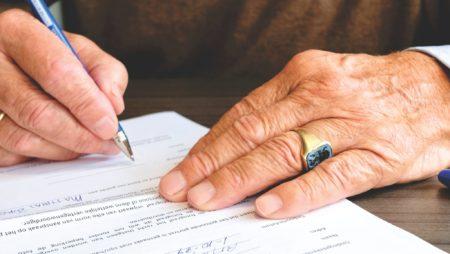 signature de l'acte de vente