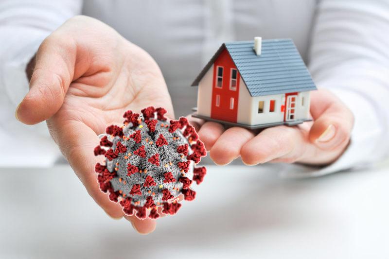Mesures sanitaires immobilier et pret immobilier
